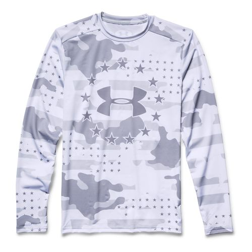 Men's Under Armour�Freedom Camo Longsleeve Compression Shirt