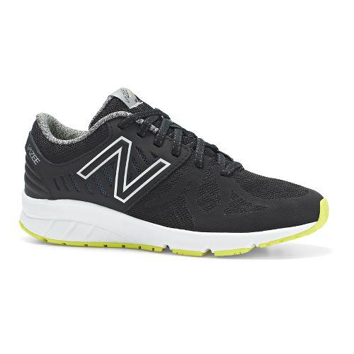 Kids New Balance RushV1 G Running Shoe - Black/Hi-Lite 4.5