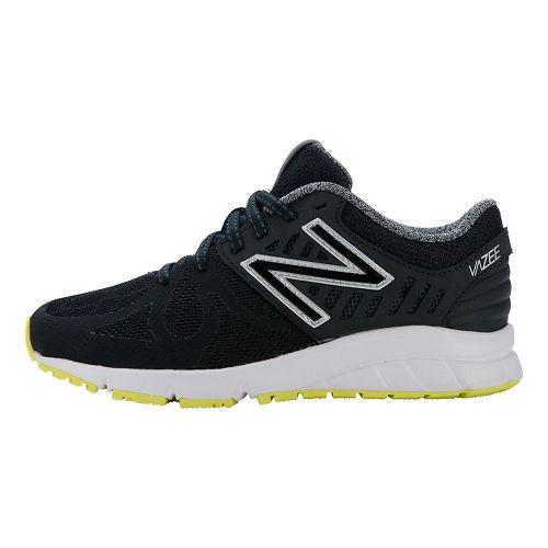 Kids New Balance RushV1 P Running Shoe - Black/Hi-Lite 12