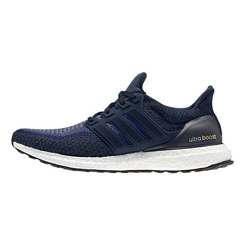 Mens adidas Ultra Boost Running Shoe - Navy 10