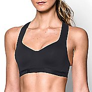 Womens Under Armour High Sports Bras - Black/Black 36D
