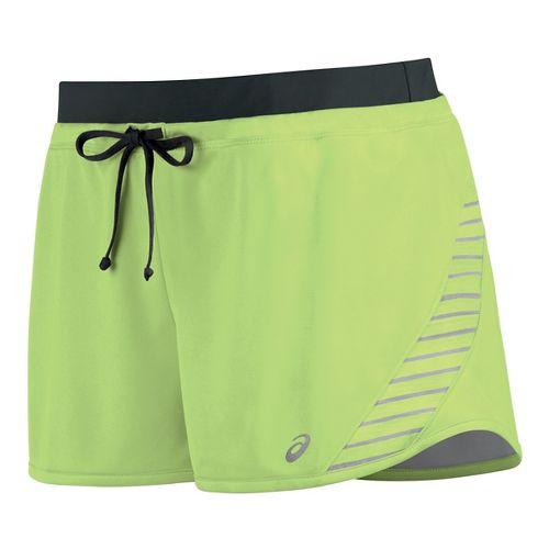 Womens ASICS Lite-Show Lined Shorts - Pistachio L