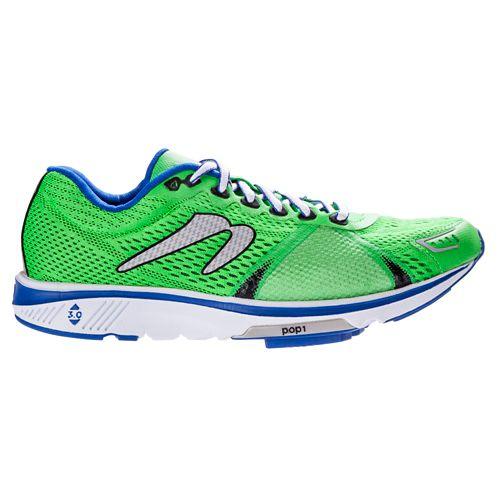 Mens Newton Running Gravity V Running Shoe - Green/Blue 12