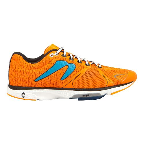 Mens Newton Running Distance V Running Shoe - Orange/Blue 8