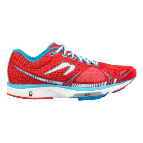 Womens Newton Running Motion V Running Shoe - Red/Blue 9.5