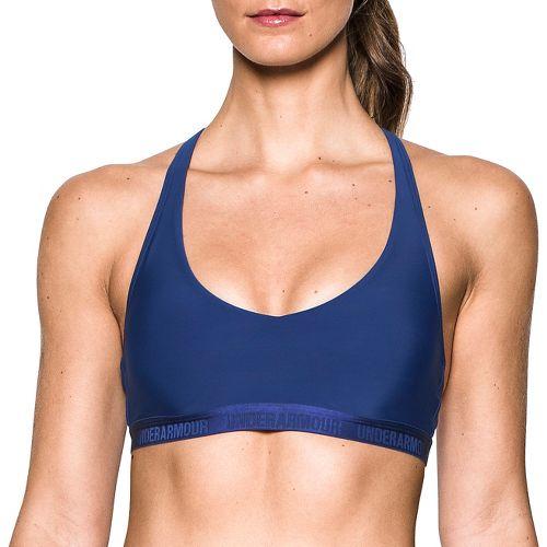 Womens Under Armour Low Sports Bras - Purple XS