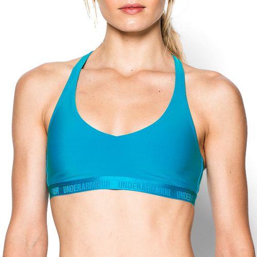Womens Under Armour Low Sports Bras - Dynamo Blue L