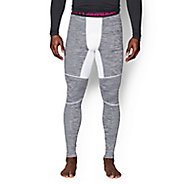 Mens Under Armour ColdGear Armour Twist Compression Leggings Tights