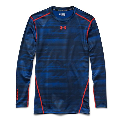 Men's Under Armour�Coldgear Armour Printed Compression Crew
