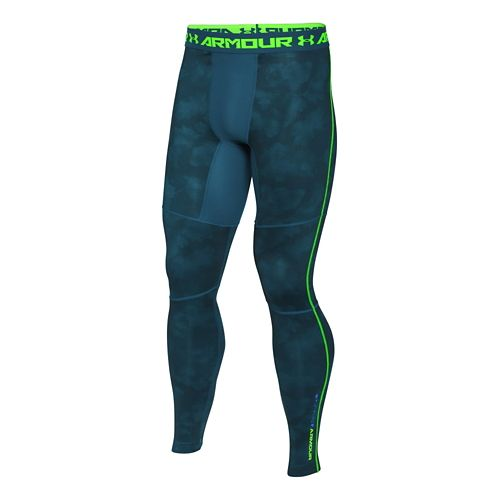Men's Under Armour�ColdGear Armour Printed Compression Legg