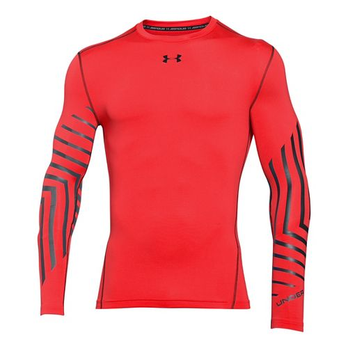 Men's Under Armour�ColdGear Armour Graphic Compression Crew