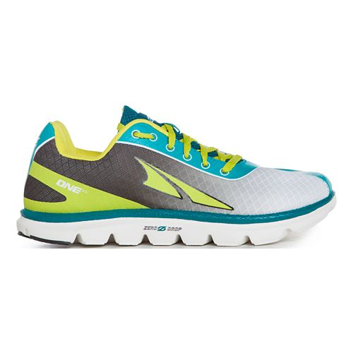 Womens Altra One 2.5 Running Shoe - Sprite 9