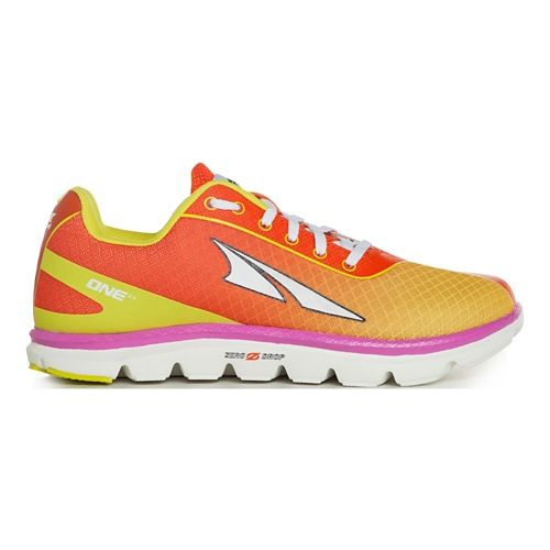 Womens Altra One 2.5 Running Shoe - Orange Daiquiri 12