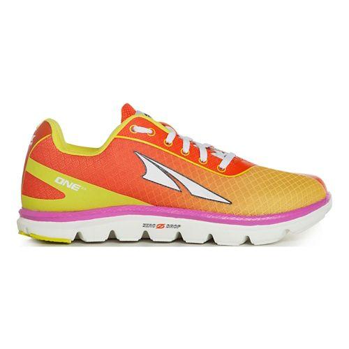 Womens Altra One 2.5 Running Shoe - Orange Daiquiri 6