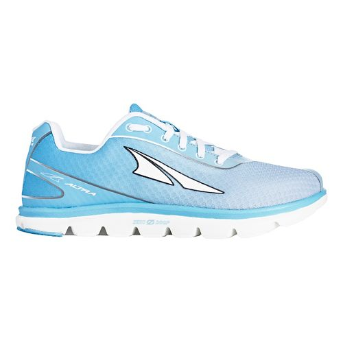 Womens Altra One 2.5 Running Shoe - Light Blue 10.5