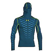 Mens Under Armour Coldgear Infrared Armour Compression Warm Up Hooded Jackets