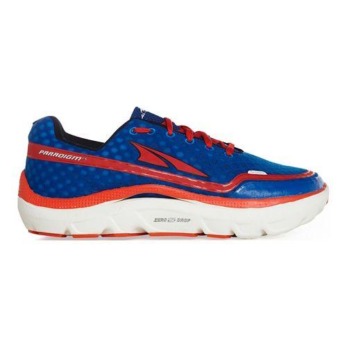 Mens Altra Paradigm 1.5 Running Shoe - Navy/Red 11.5