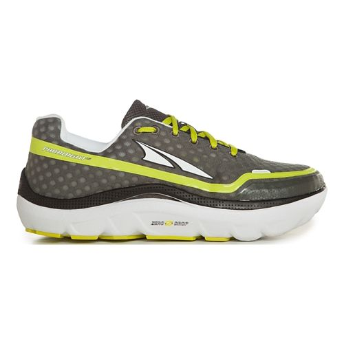 Mens Altra Paradigm 1.5 Running Shoe - Charcoal/Lime 13