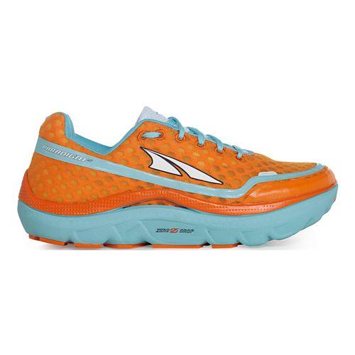 Womens Altra Paradigm 1.5 Running Shoe - Tangerine 9