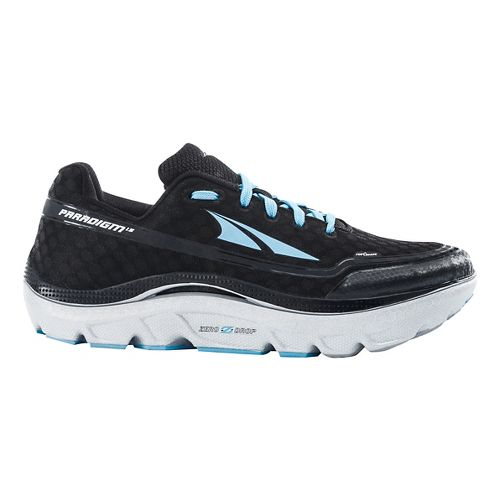 Womens Altra Paradigm 1.5 Running Shoe - Black/Blue 6.5