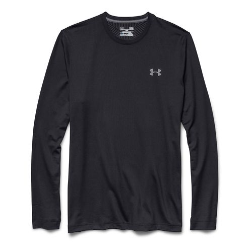 Mens Under Armour ColdGear Infrared Crew Long Sleeve Technical Tops - Black S