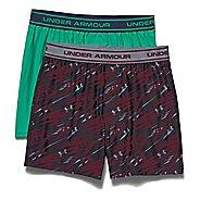Kids Under Armour Original Boxer Short 2 Pack Boxer Brief Underwear Bottoms