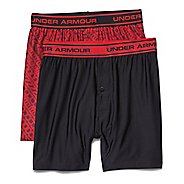 Kids Under Armour Original Boxer Short 2 Pack Boxer Brief Underwear Bottoms