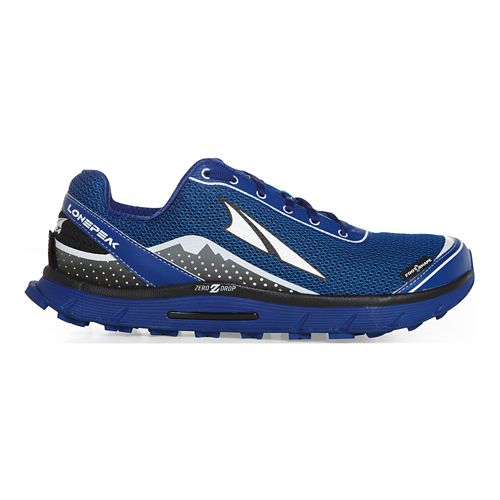 Mens Altra Lone Peak 2.5 Trail Running Shoe - Classic Blue 10.5