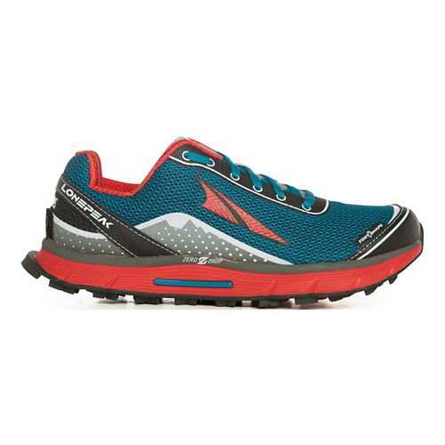 Womens Altra Lone Peak 2.5 Trail Running Shoe - Caribbean Blue 12