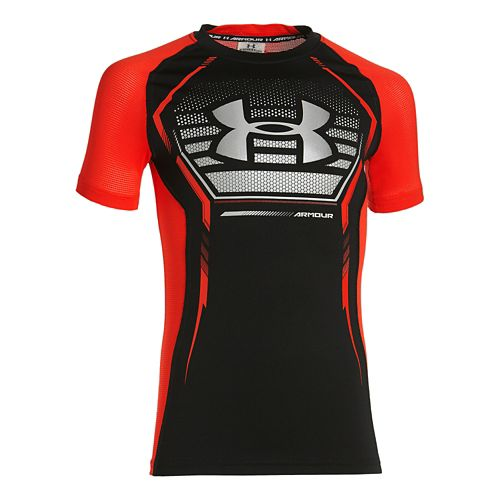Under Armour Boys Armour Up Short Sleeve T Sleeveless & Tank Tops Technical Tops - ...