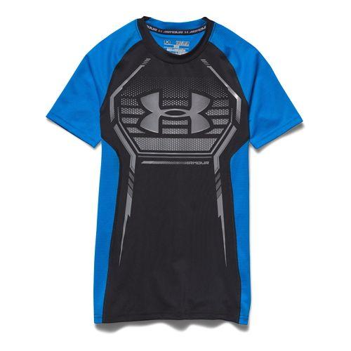 Kids Under Armour�HeatGear Armour Up Shortsleeve Fitted Shirt