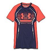 Kids Under Armour HeatGear Up Fitted Shirt Sleeveless Technical Tops
