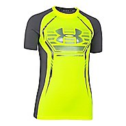 Kids Under Armour HeatGear Up Fitted Shirt Sleeveless Technical Tops