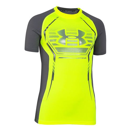 Children's Under Armour�HeatGear Armour Up Shortsleeve Fitted Shirt