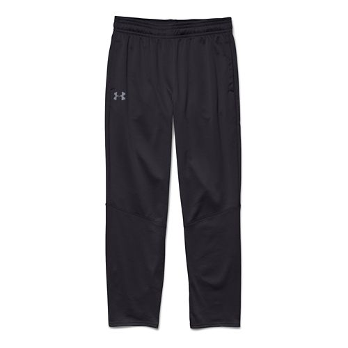 Mens Under Armour Coldgear Infrared Grid Full Length Pants - Black/Graphite S