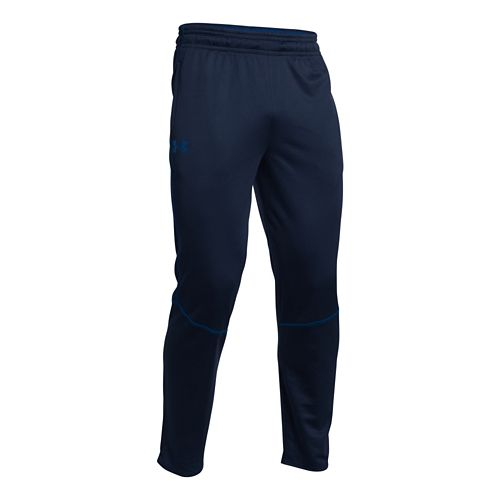 Mens Under Armour Coldgear Infrared Grid Full Length Pants - Academy/Cobalt XL