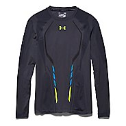 Mens Under Armour Seamless Heatgear Long Sleeve No Zip Technical Tops