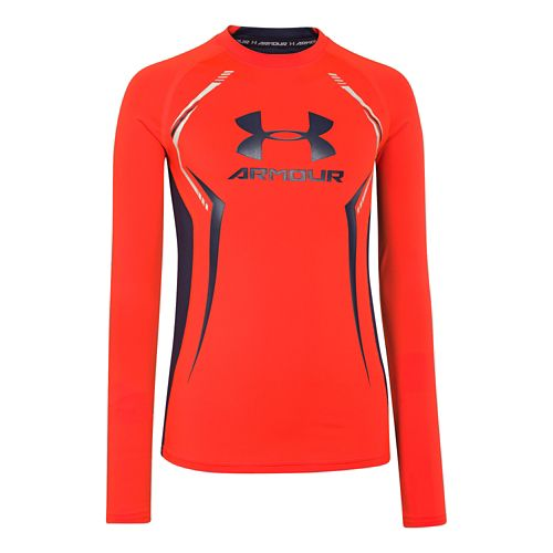 Children's Under Armour�HeatGear Armour Up Longsleeve Fitted Shirt