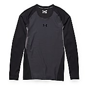 Mens Under Armour Clutchfit 2.0 T Long Sleeve No Zip Technical Tops