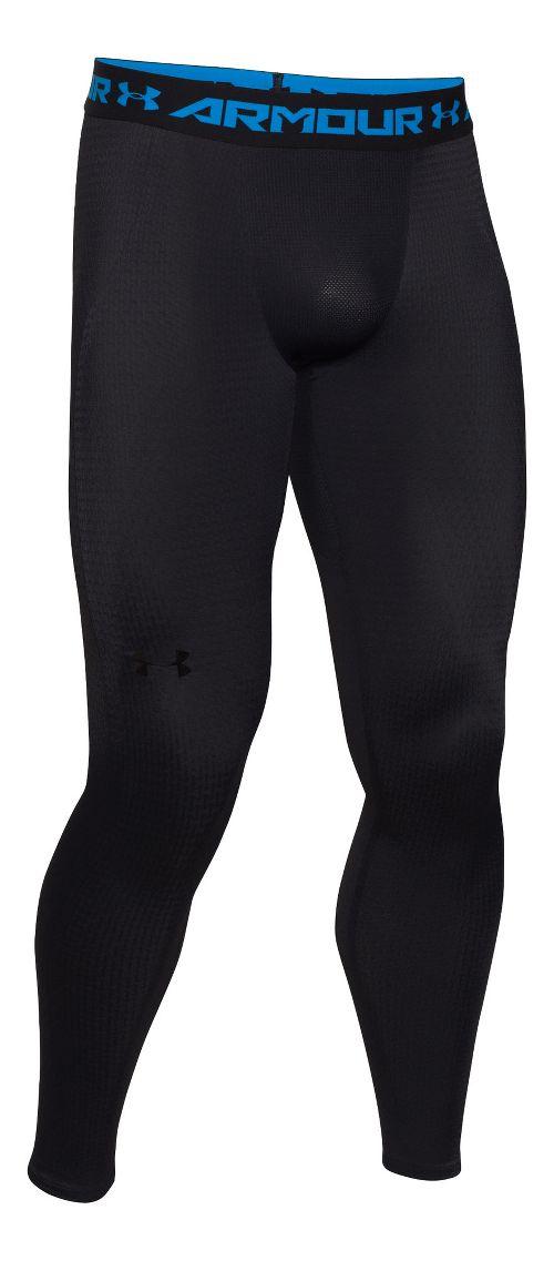 Mens Under Armour Clutchfit 2.0 Compression Legging Full Length Tights - Black M