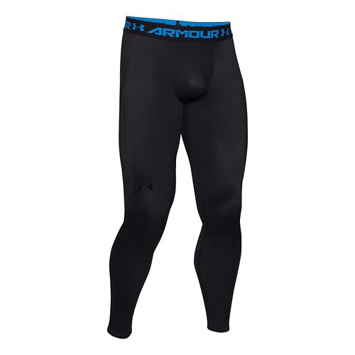 Mens Under Armour Clutchfit 2.0 Compression Legging Full Length Tights - Black L