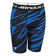 Kids Under Armour HeatGear Fitted Short Long Boxer Brief Underwear Bottoms