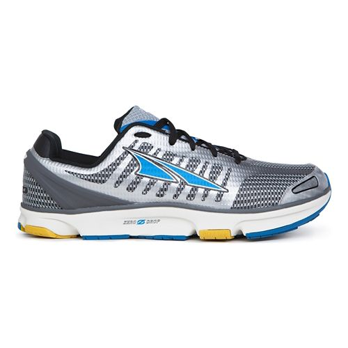 Mens Altra Provision 2.0 Running Shoe - White/Blue 11.5