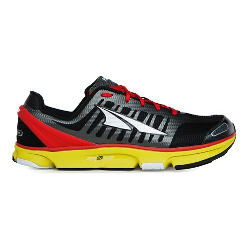 Mens Altra Provision 2.0 Running Shoe - Black/Red 10.5