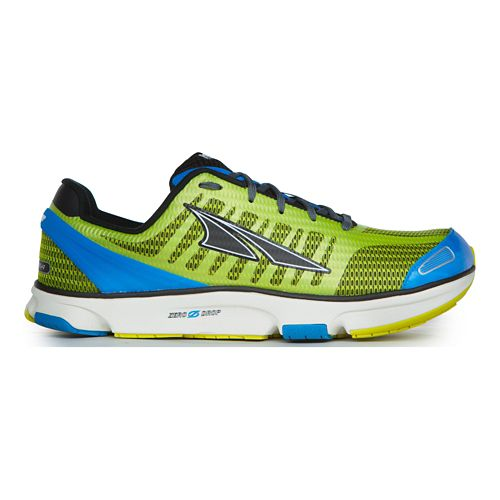 Mens Altra Provision 2.0 Running Shoe - Lime/Blue 10.5