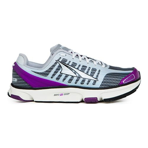 Womens Altra Provision 2.0 Running Shoe - White/Purple 5.5