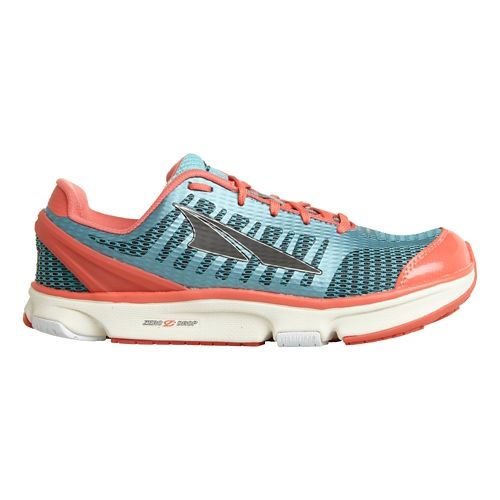 Womens Altra Provision 2.0 Running Shoe - Blue/Coral 6.5