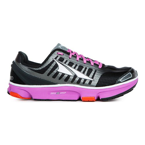 Womens Altra Provision 2.0 Running Shoe - Black/Pink 7.5
