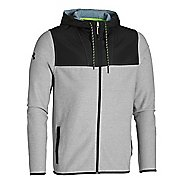Mens Under Armour Coldgear Infrared Survival Fleece Full-Zip Warm Up Hooded Jackets