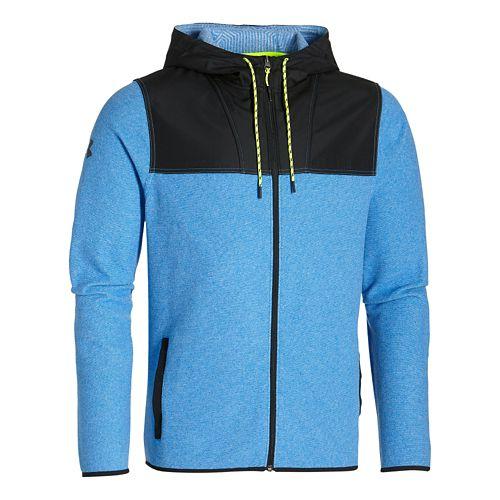 Mens Under Armour ColdGear Infrared Survival Fleece Full-Zip Hoodie & Sweatshirts Technical ...